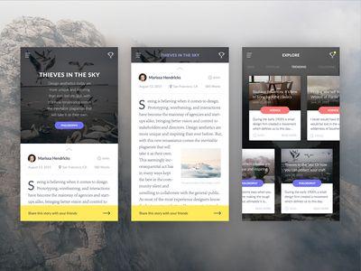 Mobile Blog Styles