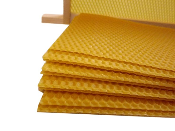 10 easibee National Bee Hive Super Wired 100/% Natural Beeswax Wax Foundation Sheets 10pcs