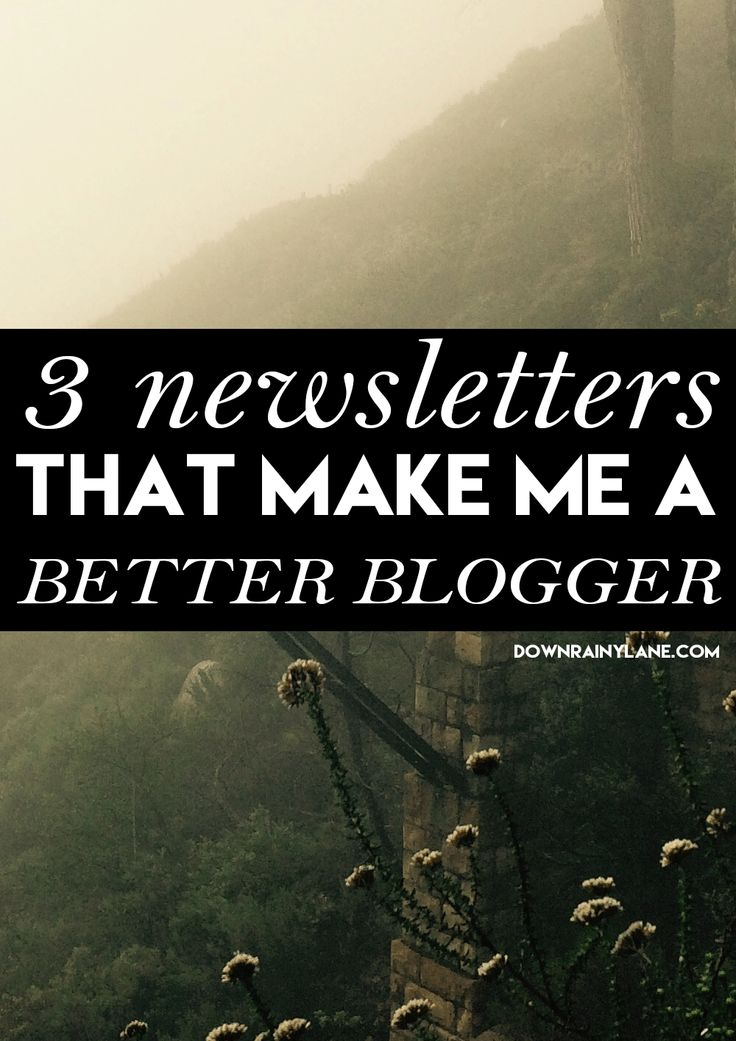 3 awesome newsletters that make me a BETTER blogger!