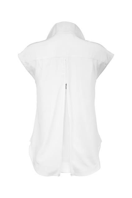 Seidenhemd mit Rückenzipper (MADELEINE) | Блузки | marqs.com