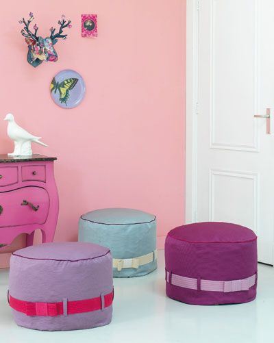 1000 images about textile design by marieke de geus on pinterest beach bags diy and crafts - Pouf eigentijds ontwerp ...
