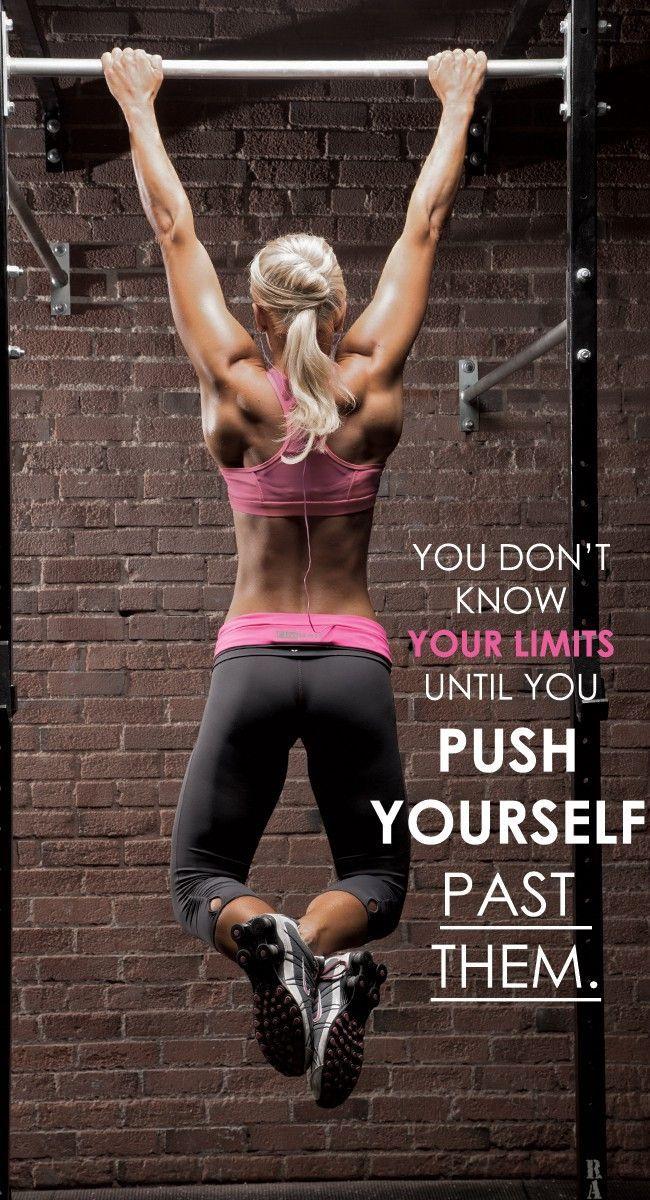 Non conoscerai mai i tuoi limiti finché non ti spingerai a superarli...