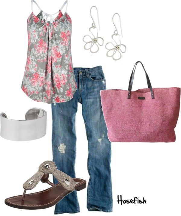 Spring OutfitFashion, Summer Outfit, Style, Clothing, Jeans, Pink, Cute Outfit, Summer Night, Spring Outfit