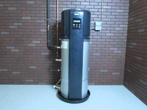 bosch compress heat pump water heater video