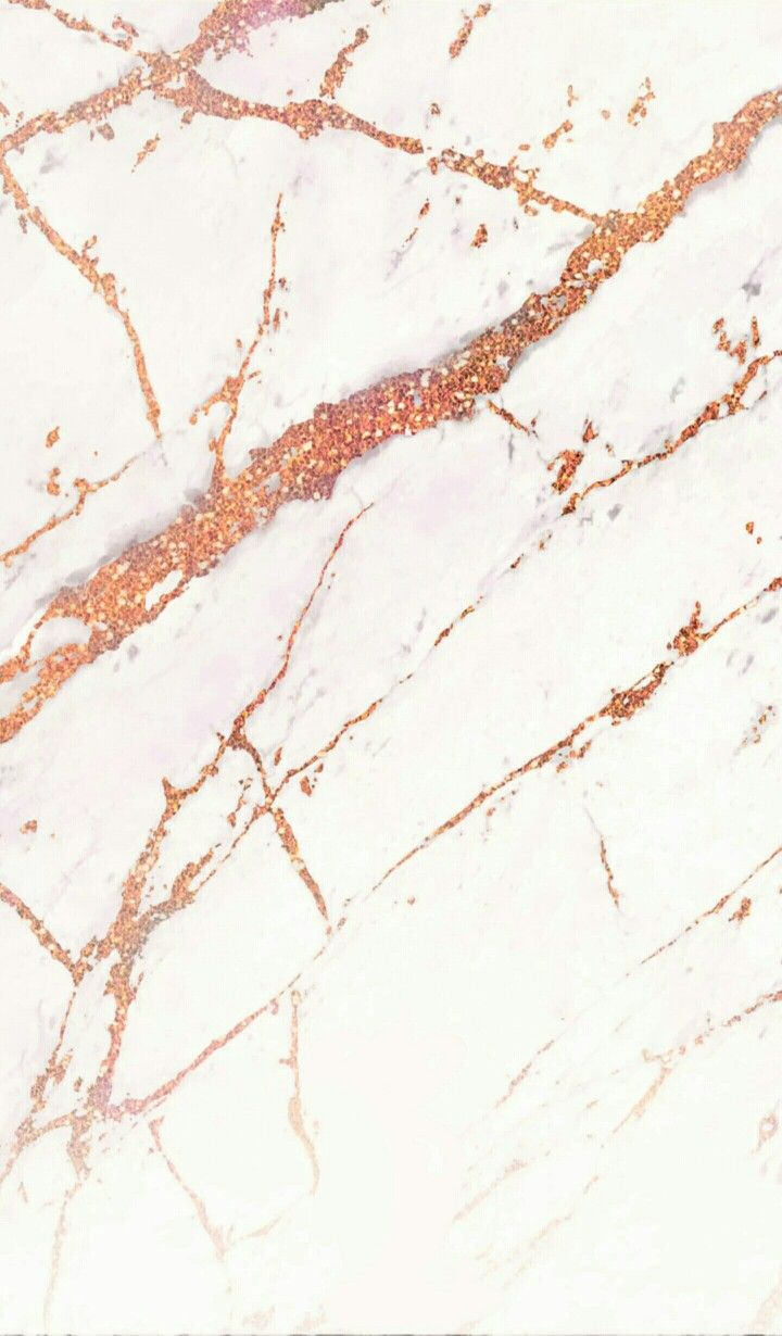 IPhone White rose gold marble Wallpaper/ Fond d'écran blanc marbré rose gold