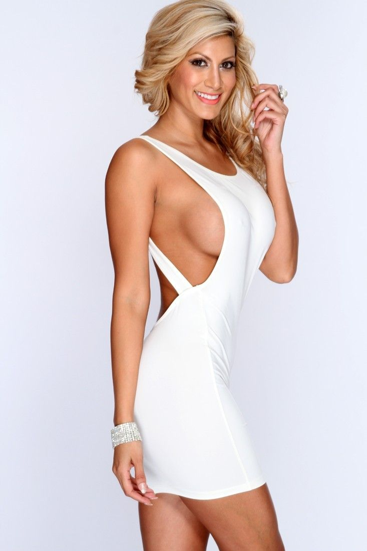 Really. All Teen model white dress opinion, this