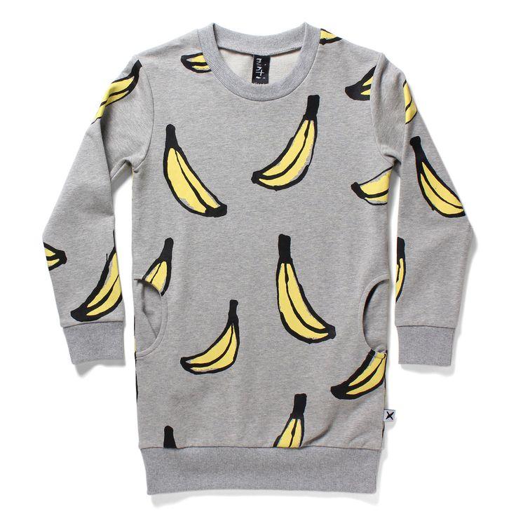 minti littlescruff - Minti Gone Bananas Crew Dress