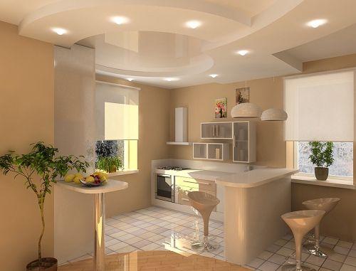Дизайн кухни студии | Дизайн Кухни