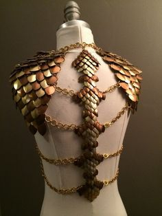 how to make dragon scale armor in real life - Google Search