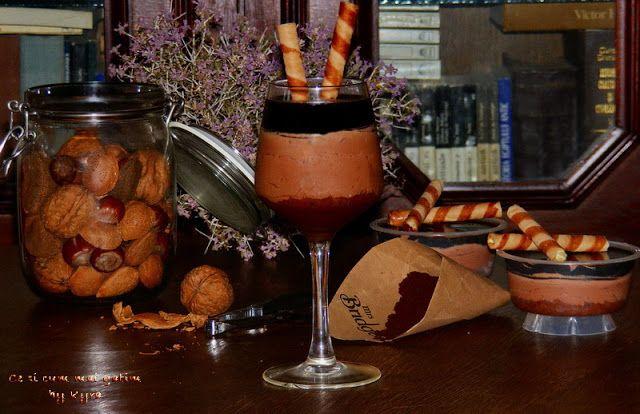 Ce si cum mai gatim: Verrine cu ciocolata si jeleu de cafea