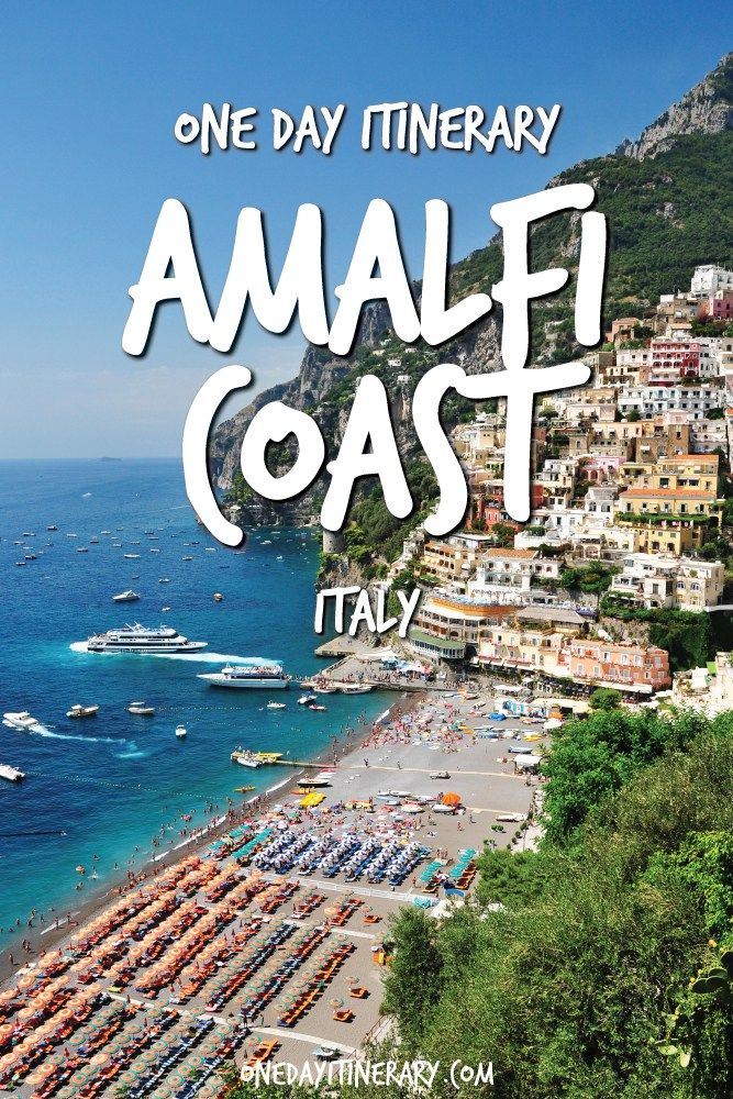 Amalfi Coast One Day Itinerary - Top things to do on Amalfi Coast, Italy