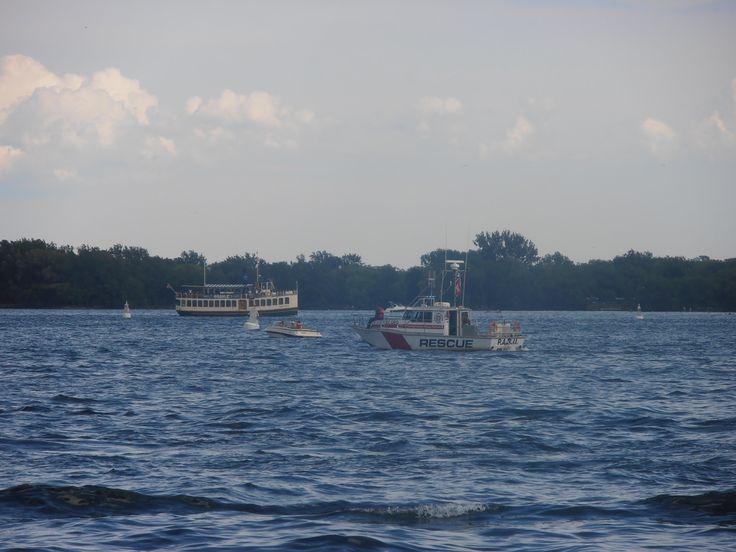 Toronto Marine Police boat