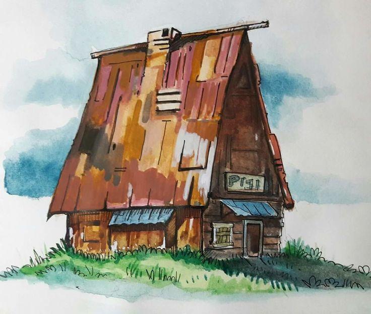 Paint Study, jishnu k on ArtStation at https://www.artstation.com/artwork/kXQwd