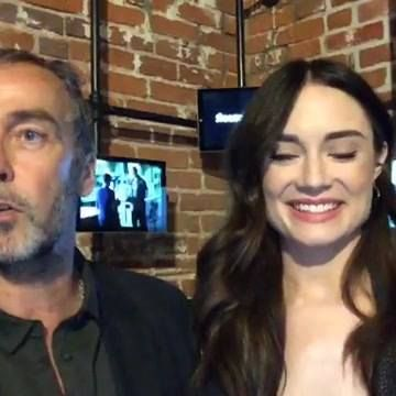 "We're with John Hannah and Mallory Jansen from a special livetweet fan event for ""MARVEL's Agents of S.H.I.E.L.D.""!"