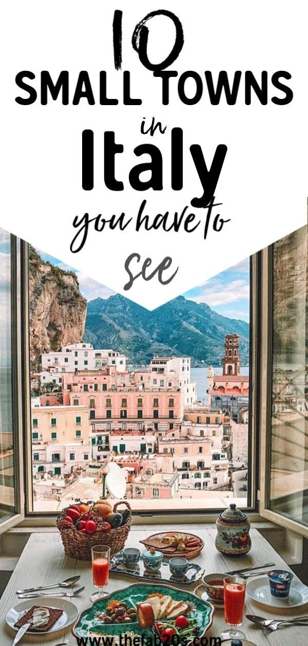 10 Beautiful Small Towns In Italy You Have To See Thefab20s Tickets To Italy Italy Itinerary Cities In Italy
