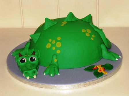 """Dino taart van een blanda.... zo schattig! (Pagina 1) - Taarten Parade - Het """"DeLeuksteTaarten"""" - forum"""