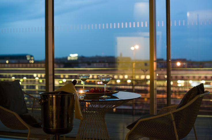 Beautiful view in Meeting Hotel Radisson Blu, Rome (Italy)