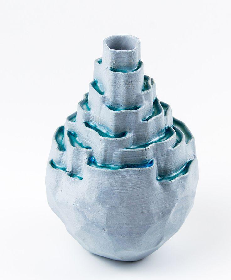 The Terraces. www.brittle.design #brittledesign #theTerraces #Porcelain #3DPrintedCeramics