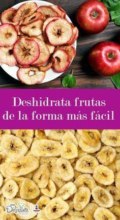 como deshidratar las frutas y verduras | CocinaDelirante
