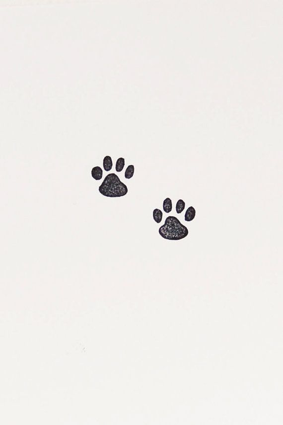 Cat paw stamp, tiny stamps, handmade stamps, cat lover gift, cat paw prints, cat tracks stamp, animal tracks stamp, paw rubber stamp