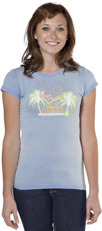 Stay Classy San Diego Anchorman T-Shirt