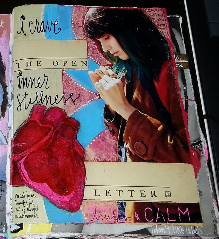 Kelly Kilmer Artist and Instructor: 11 June 2015 Journal Page