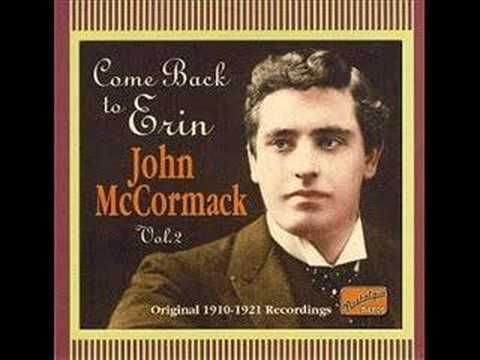 """1910 (yes, 103 years ago) LP version of """"When Irish Eyes Are Smiling"""" by John McCormack.  Quintessential St. Patrick's Day song."""