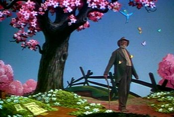 "As is ""Zip-a-Dee-Doo-Dah"" — a song from Disney's 1946 movie ""Song of the South"" performed by James Baskett. Description from rapgenius.com. I searched for this on bing.com/images"