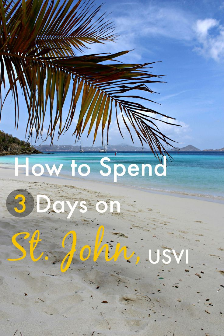 Planning a trip to St John in the US Virgin Islands? Click through to read our recommendations for how to spend 3 days on the island!