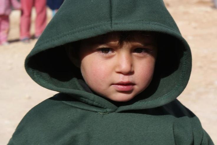 Aiutaci a proteggere i bambini siriani dal freddo e dalla guerra! Repin!