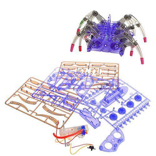 NDJK Electric Animal Spider Robot Toy DIY Educational Assembles Model Handwork for Kids. #NDJK #Electric #Animal #Spider #Robot #Educational #Assembles #Model #Handwork #Kids