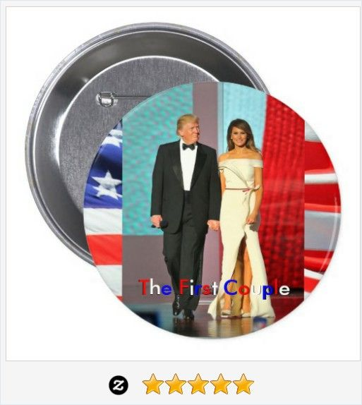 The First Couple #Donald and #Melania #Trump #Inauguration Button #JustSold #ThankYou :) https://www.zazzle.com/first_couple_donald_and_melania_trump_inauguration_button-145961304368194860