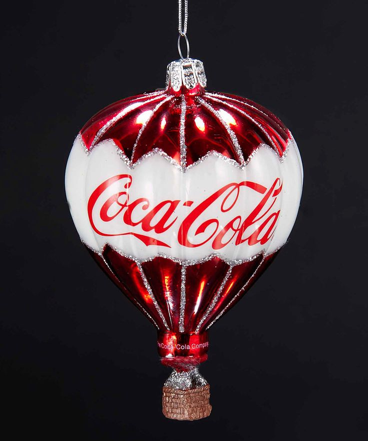 Look at this Coca-Cola Balloon Ornament on #zulily today!