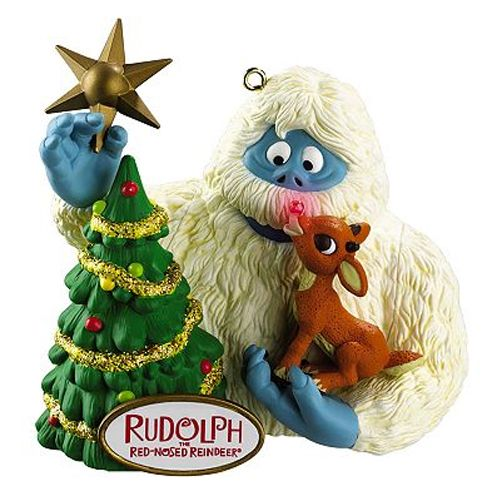 rudolph the red nosed reindeer ornaments | Carlton Cards Heirloom Rudolph the Red-Nosed Reindeer Bumble Ornament ...
