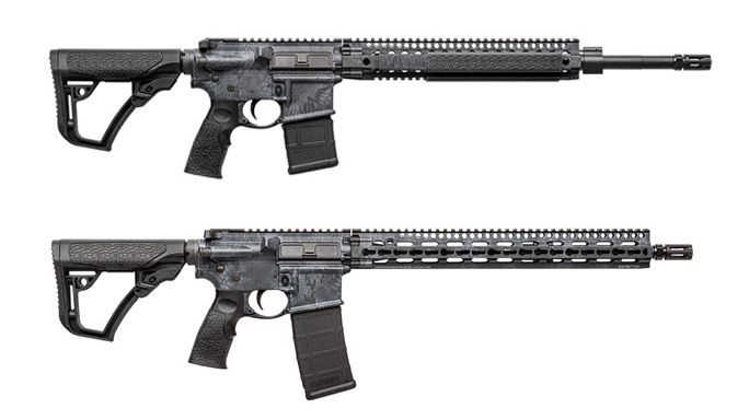 Daniel Defense Adds Kryptec Typhon Finish to MK12, V11   Daniel Defense's Kryptec Typhon finish is done using a water-transfer printing process that holds up in the harshest environments.