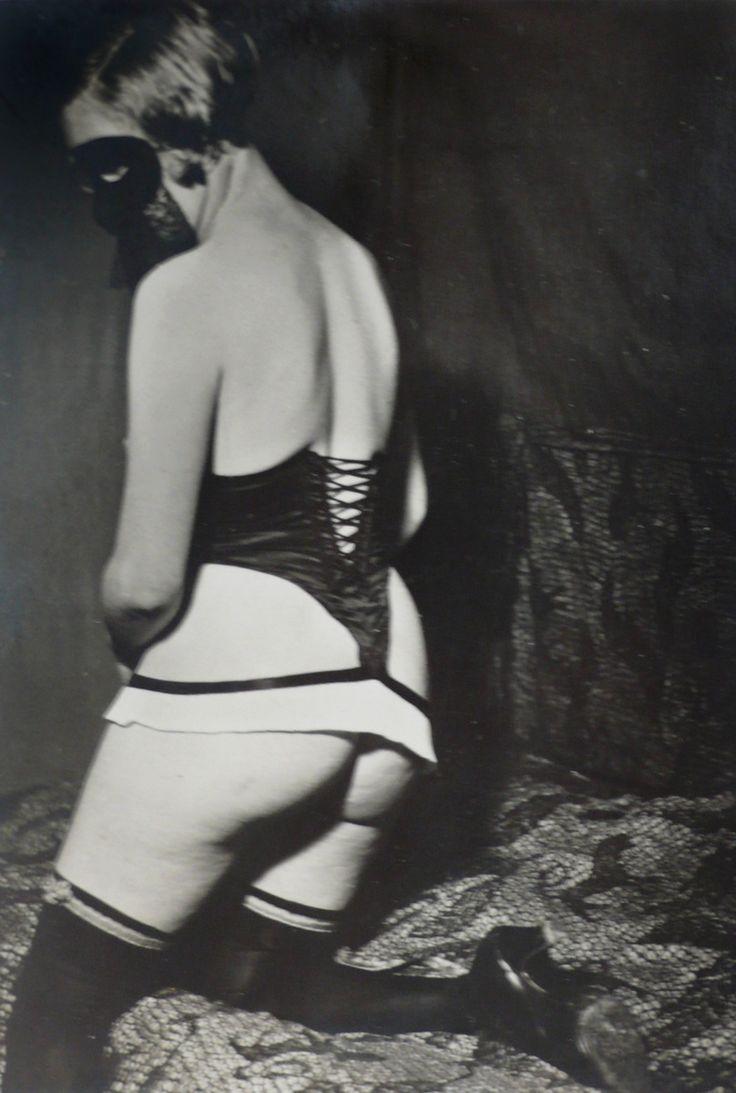 "Brassaï - Pantalon ""Tentation"" Diana Slip, 6, 1933 Vintage gelatin silver print 14 x 9.5 cm"
