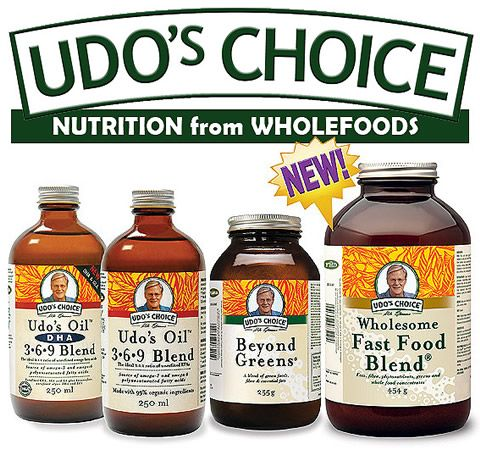 Udo's Health Products: #Vegetarian #Organic Essential Fatty Acids available in Australia www.udoshealthproducts.com.au