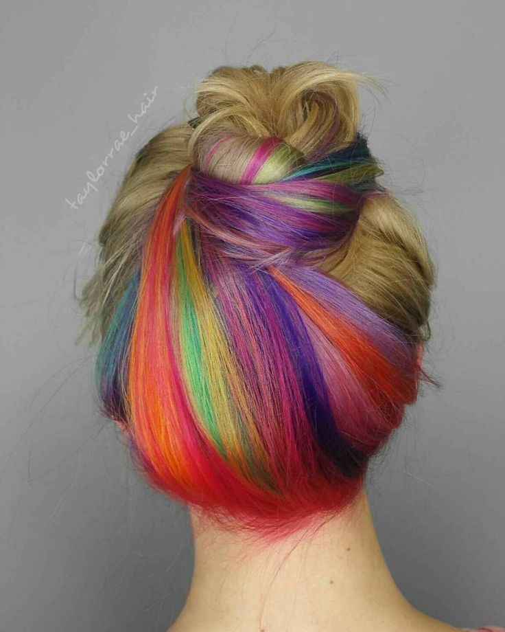 Rain Bow Hair September 2017