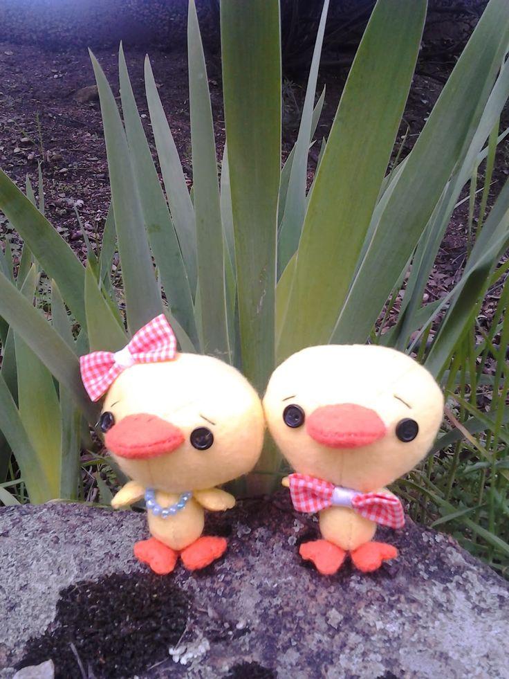 Los mundos de Esthercita: ¡Al agua patos!