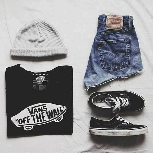 tumblr outfits fashion vans | fashion | Pinterest | The ...