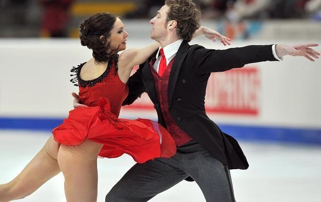 Nathalie Pechalat and Fabian Bourzat