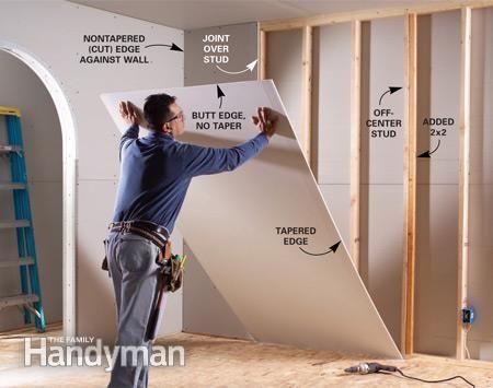 Best 25+ Hanging drywall ideas on Pinterest | Drywall ...