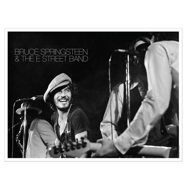 Check out Exclusive Lithographic Print - Bruce Springsteen & The E Street Band Live At The Bottom Line In NYC, 1975 (1-500) on @Merchbar.