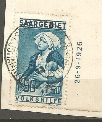 S A A R G E B I E T - MICHEL nr 107 (4985) oppføring i Tyskland & koloniene,Europa,Frimerker kategorien på eBid Norge