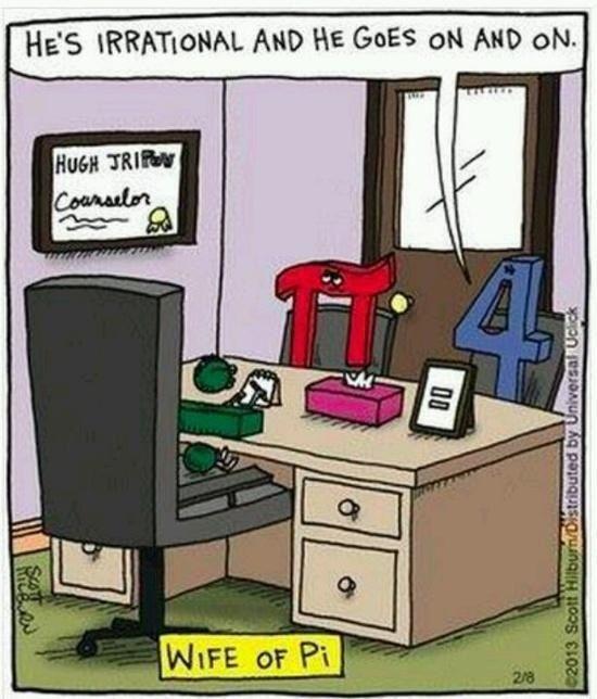jokes, math, math jokes, pi