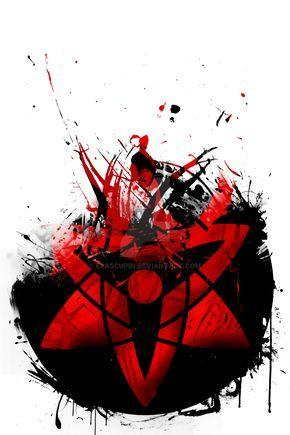 Sasuke's Eternal Mangekyou Sharingan by ErascupiN.deviantart.com on @DeviantArt