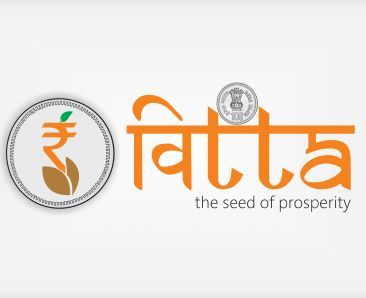 Finance Logo, Govt of India  Vitta... the seed of prosperity The concept behind the logo is ... Every small seed can bring out a plant or a tree. From that plant/tree many more seed will be produced. Likewise our Nation's finance should prosper.