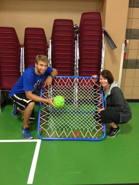 Boosterthon funds can also be used to bring a new sport to your school, like Tchoukball!