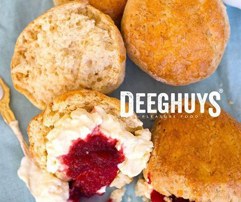 Visit #DeeghuysGeorge at the #GardenRouteMall for our mouth-watering scones. It is the perfect complement for your Sunday afternoon tea. #PleasureFood