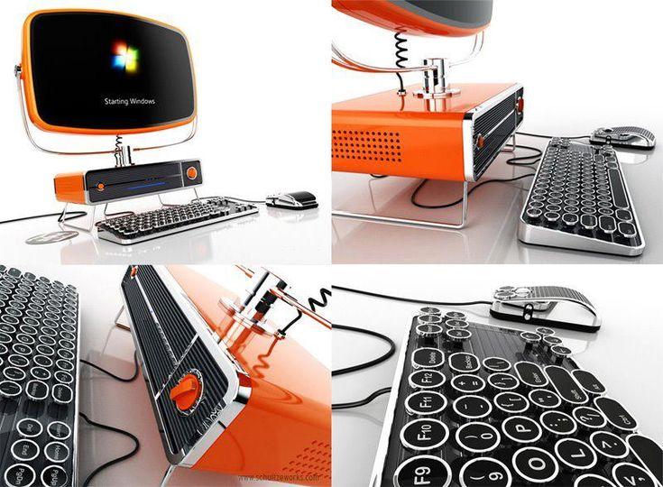 La nueva Philco PC, diseñada por David Schultze es un concepto inspirado en los años 50.